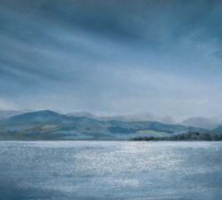 Calm : An original pastel by landscape artist Sue Thomas