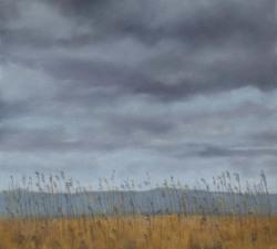 Marshland Grasses : An original pastel by landscape artist Sue Thomas